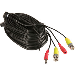Yale Smart Living Yale Smart Home HD CCTV Cable SV-BNC30 30m - 46521 - from Toolstation