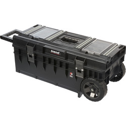 Trend Trend Modular Storage Toolbox Wheeled with Clamping Rails  - 46549 - from Toolstation