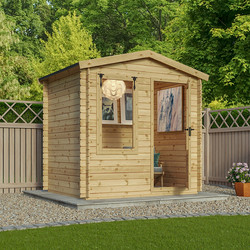 Mercia Mercia Log Cabin - 19mm 2.5m x 2m - 46577 - from Toolstation