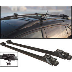 Streetwize Anti-Theft Lockable Universal Roof Bar 1250mm Length - 46647 - from Toolstation