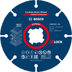 Bosch Bosch X-LOCK Carbide multi wheel 115mm x 22.23mm - 46679 - from Toolstation