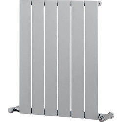 Ximax Ximax Oxford Single Designer Radiator 600 x 445 1058Btu Silver - 46808 - from Toolstation