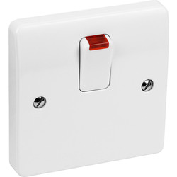 MK MK 20A DP Switch Neon - 46841 - from Toolstation