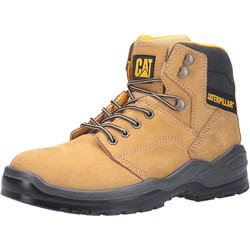 CAT Caterpillar Striver Safety Boots Honey Size 12 - 46854 - from Toolstation