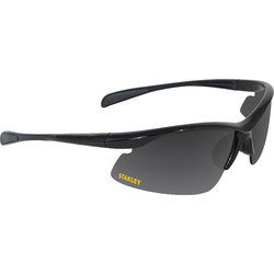 Stanley Stanley 10-Base Curved Half-Frame Safety Glasses Silver Mirror - 46913 - from Toolstation