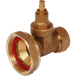 "Pump Valve 28mm x 1.1/2"" Gate"