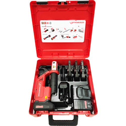 Rothenberger Rothenberger Compact TT Press Jaw Set C/W 15-22-28mm - 46988 - from Toolstation