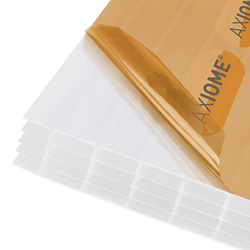 Axiome Axiome 25mm Polycarbonate Opal Fivewall Sheet 690 x 3000mm - 47026 - from Toolstation