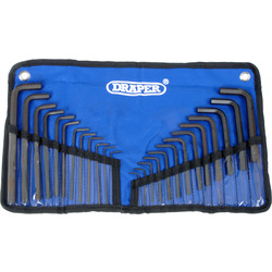 Draper Draper Hex Key Set  - 47207 - from Toolstation