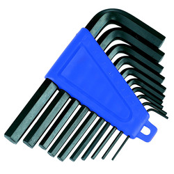 Hex Key Set Imperial - 47230 - from Toolstation