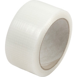 Ultratape Heavy Duty Cloth Duct Tape Clear 50mm x 20m - 47305 - from Toolstation