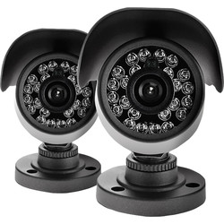 Yale Smart Living Yale HD Bullet Camera Twin Pack Grey - 47344 - from Toolstation