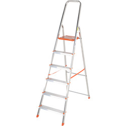 TB Davies TB Davies Light Duty Platform Step Ladder 6 Tread SWH 2.9m - 47378 - from Toolstation