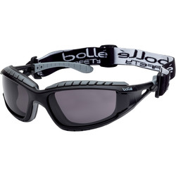 Bolle Bolle Tracker Hybrid Safety Glasses Smoke - 47447 - from Toolstation