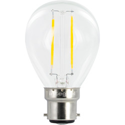 Integral LED Integral LED Filament Ball Lamp 2.1W BC (B22d) 250lm - 47497 - from Toolstation