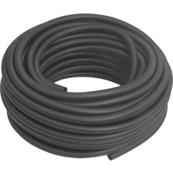 Profix Polypropylene Flexible Conduit 25mm x 50m Coil Black - 47607 - from Toolstation