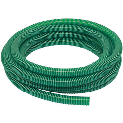 "Light Suction PVC Delivery Hose 10m 32mm / 1 1/4"" - 47687 - from Toolstation"