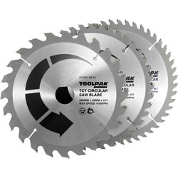 Toolpak Toolpak TCT Circular Saw Blades 205 x 30mm - 47727 - from Toolstation
