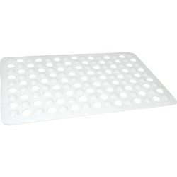 Non Slip Bath Mat 380 x 600mm White