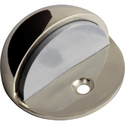Unbranded Oval Door Stop Satin - 47794 - from Toolstation