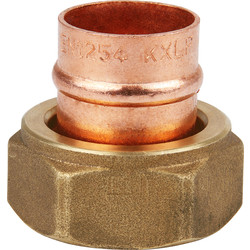 Solder Ring Straight Cylinder Union 22mm - 47887 - from Toolstation