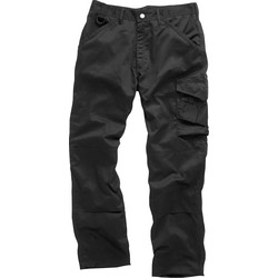 "Scruffs Worker Trousers 40"" L Black"