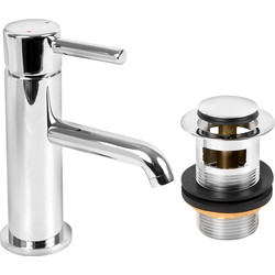 Highlife Elgin Cloakroom Basin Mixer Tap  - 48122 - from Toolstation