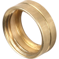 Unbranded Brass Bush Female 25mm - 48204 - from Toolstation
