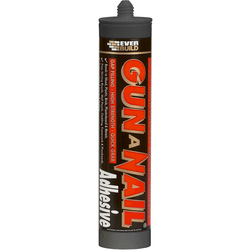 Everbuild Gun A Nail Solvent Free 290ml - 48295 - from Toolstation