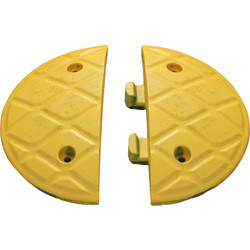 JSP JSP Jumbo Speed Bump End Caps Yellow - 48305 - from Toolstation