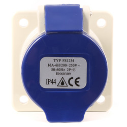 Industrial Panel Socket IP44
