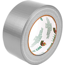 Duck Tape Duck Cloth Duct Tape Silver 50mm x 25m - 48334 - from Toolstation