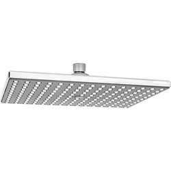 Unbranded Rectangular Rain Shower Head 250 x 175mm - 48348 - from Toolstation