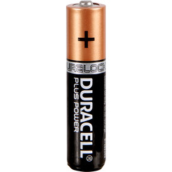 Duracell Duracell Plus Power Battery AAA - 48500 - from Toolstation