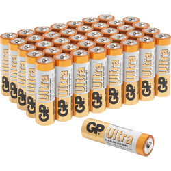GP Batteries GP Ultra Alkaline Battery AAA - 48516 - from Toolstation