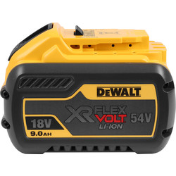 DeWalt DeWalt 54V XR FlexVolt Battery 9.0Ah - 48527 - from Toolstation