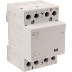 IMO IMO 4 Pole Heating Contactor 40A 230V - 48557 - from Toolstation
