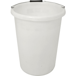 Heavy Duty Heavy Duty Plasterers Mixing Bucket 25L White - 48580 - from Toolstation