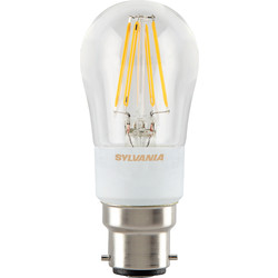 Sylvania Sylvania LED Filament Effect Dimmable Ball Lamp 4.5W BC 470lm A++ - 48582 - from Toolstation