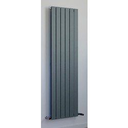 Ximax Ximax Oxford Single Designer Radiator 1500 x 445mm 2399Btu Anthracite - 48621 - from Toolstation