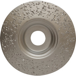 Toolpak Tungsten Carbide Grinding Disc 115 x 22mm - 48626 - from Toolstation