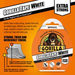 Gorilla Tape White