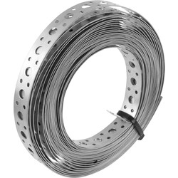 BPC Fixings Stainless Steel Banding 20mm x 10m - 48657 - from Toolstation