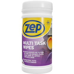 Zep Zep Commercial Multi Task Wipes 100 Wipes - 48729 - from Toolstation