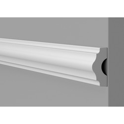 NMC Dado Panel WL3 38mm x 16mm x 2m - 48787 - from Toolstation