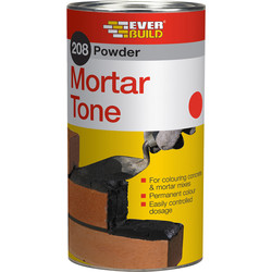 Everbuild Everbuild 208 Powder Mortar Tone 1kg Red - 48790 - from Toolstation