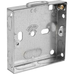 Appleby Metal Box 1 Gang 16mm - 48849 - from Toolstation