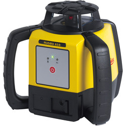 Leica Leica Rugby 610 Li-Ion Rotary Laser level Rechargeable Li-Ion - 49006 - from Toolstation