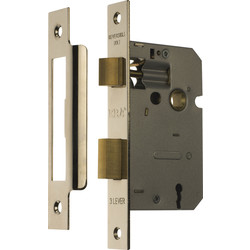ERA ERA 3 Lever Mortice Sashlock Chrome 64mm - 49033 - from Toolstation