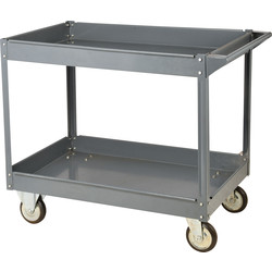 Barton Steel Workshop Trolley 2 Tray - 49048 - from Toolstation